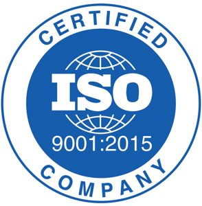 ISO9001:2015 accredited