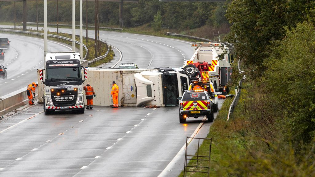 Incident on A13 in Essex