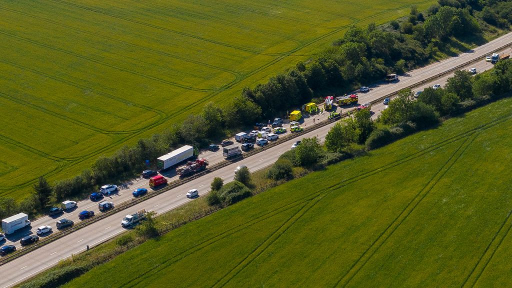 Incident on A12 in Essex